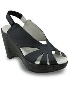 """Jambu """"Opal"""" Leather Wedge Sandal"""