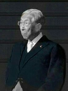 kahito, Prince Mikasa(2 December 1915 – 27 October 2016)was a member of theImperial House of Japanwho wasfifthin the line of succession to theJapanesethrone. He was the fourth and youngest son ofEmperor TaishōandEmpress Teimeiand was their last surviving child.
