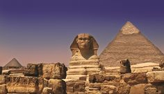The Great Sphinx of Gaza, Egypt. The face of the Spinx is generally believed to represent the face of the Pharaoh Khafra #Egypt #Bucketlist #StudentFlights #GoYourOwnWay #Travel