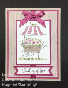 Stampin' with Lisa Stampin' Up! Friendship's Sweetest Thoughts Watercolor Pencils