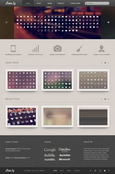 Love.ly Personal Designer Template by IconDeposit on Creative Market