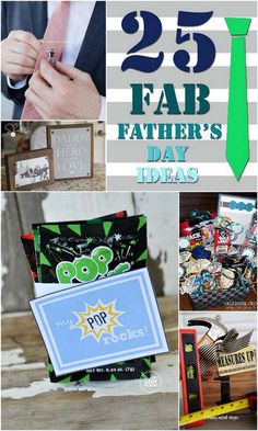 25 FAB Father's Day Ideas