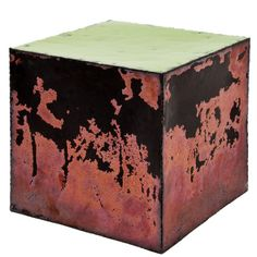 1stdibs - Enameled Copper Cube by Kwangho Lee explore items from 1,700  global dealers at 1stdibs.com