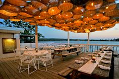 ... Photo: The Surf Lodge Montauk - found this place via Gabrielle Bernstein. great outdoor patio , restaurant, relaxing, by the water.