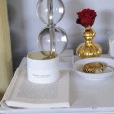 Little gold vase