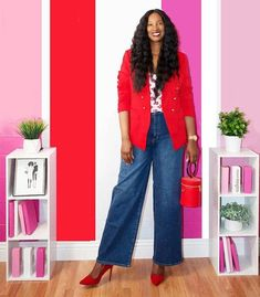 Shoes to wear with wide leg pants   40plusstyle.com
