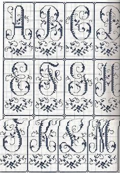 Gallery.ru / Фото #39 - Sajou Passion des Alphabets Anciens - Orlanda