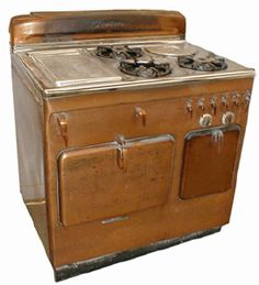copper Chambers stove c. 1953, for the perfect grilled cheeses of my childhood