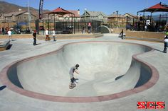 One of my favorite skateparks in North Fontana.  Always a fun time skating and biking with my friends.