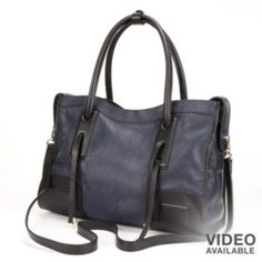 PAVA Leather Convertible Tote