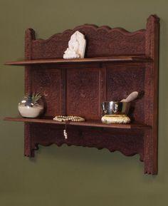 Home altar ideas on pinterest home altar altars and for Altar wall decoration