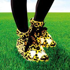 Leopard Print festival feet - £4.49