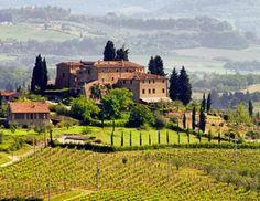 campagne toscane.
