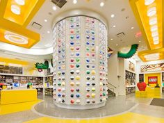 5 Places Piled High with LEGO fun in #NYC. The Sky's the limit at these playgrounds, learning centers, stores. #newyork #kids #activities #toys #legos #playtime