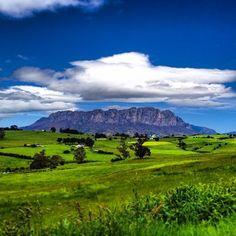 A scene of vivid blue and green at Mt Roland. #mtroland #tasmania #discovertasmania Image Credit: genigeni