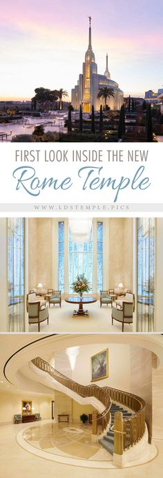 Pictures Inside the Beautiful New Rome Italy Temple - LDS Temple Pictures Lds Temple Pictures, Temple Quotes Lds, Temple Lds, Church Quotes, Mormon Temples, Lds Temples, Thinking In Pictures, My Father's House, Italy Tours