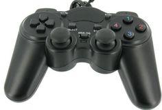 2x Playstation 3 USB-Gamepad Joypad Controller Schwarz für PS3 in OVP!NEU!