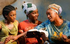 #LupitaNyongo#Eclipsed | The 10 Most Famous Faces on Broadway in 2016: Broadway is shining especially bright this year (Lupita Nyong'o (center) in 'Eclipsed' (Photo: Joan Marcus)
