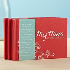My Mom Her Stories Her Words Book [2 to 5 Day FREE Delivery]