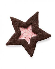 Chocolate-and-Peppermint Stars - Martha Stewart Recipes