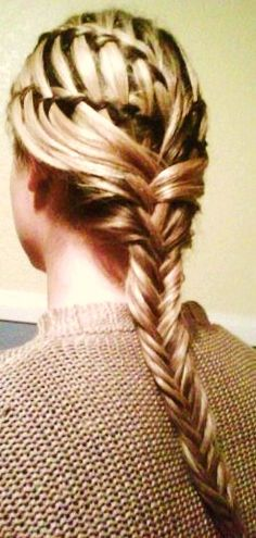 Braids look amazing on some girls and are always an easy alternative to spending hours curling or straightening.