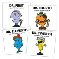 Doctor Who Mr Men Exclusive Bundle W Poster