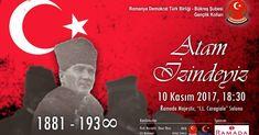 """10 Kasım Atatürk'ü Anma Günü, """"Atam İzindeyiz"""" Sempozyumu"""