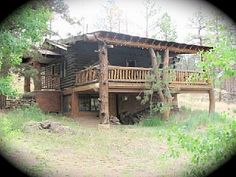 Wonderful Oldfashioned Colorado Log Cabin