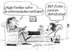 Enfermedades mentales  #humor #Psicología