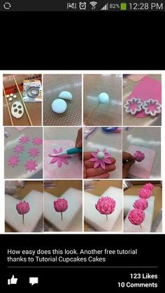 Easy flower tutorial