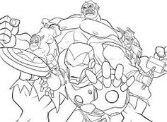 free avengers coloring pages Kids Coloring Coloring Avengers