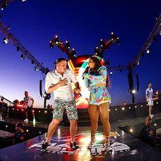Acantora Márcia Fellipe animou uma multidão de fãs na gravação do seu DVD 'Day Off'em Aracaju,na tarde de domingo (11). A forrozeira contou com a participação deWesley Saf...