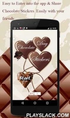Love Stickers - Chocolate Day  Android App - playslack.com ,  ♥♥♥ Presenting Love Stickers for Chocolate Day only for you ♥♥♥Now it's very easy to wish this Valentine Chocolate Day by sharing these stickers with your loved ones.Express your Love and Romance by sharing these stickers with your loved one. This stickers app has the best unique and most mesmerizing collection of chocolate day stickers.Highlights:★ Best collection of stickers.★ HD Quality stickers.★ Chat with love emoji.★ Can be…