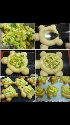 Bread Design Burger Bread, Creative Food, Food Design, Food Art, Bread Recipes, Sushi, Baking, Ethnic Recipes, Desserts