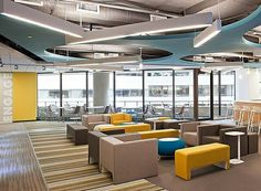 Edelman - Cool Office Spaces - Forbes. I could see this working in our space and still allowing for personalization