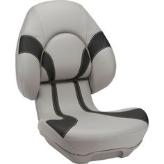 Attwood's Centrix X Seat is composed of durable and quality materials. Designed for use in marine environments, Refer to manufacturer recommendations and installation guidelines to ensure a proper fit. This seat comes with grey and black colors. Backyard Swing Sets, Grey Ottoman, Ceiling Trim, Folding Seat, Boat Seats, Marine Environment, Rv Accessories, Advanced Style, Material Design