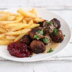 Köttbullar, oftewel Zweedse gehaktballetjes (zoals bij IKEA)