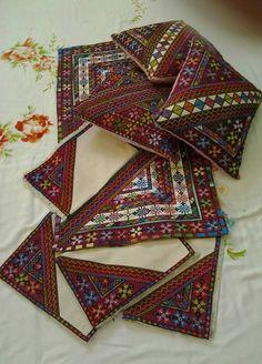 A set of tatreez / palestine