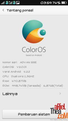 [CUSROM] OPPO ColorOS V2 For AdvanS5E