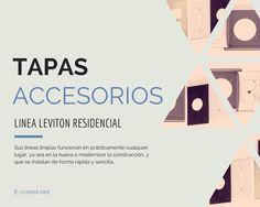 Tapas y Accesorios - Leviton Residencial