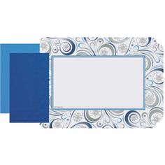 Silver Snowflake Placemats and Napkins Combo Pack 250 ct