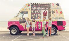 Ice cream van // via Sudo Childrenswear Ice Cream Van, Mood Images, Pop Up Shops, Tween Fashion, Black Kids, Kid Styles, Summer Collection, Little Boys, Cool Kids