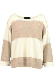 LineGrafton two-tone cashmere sweater