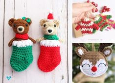 If you want do take your Christmas decor to the next level and feel the magic, use some of those patterns to crochet beautiful hanging ornaments. #freecrochetpattern #amigurumi #ornament