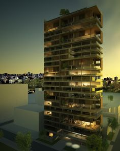 StealMag | residential highrise by studio arthur casas...