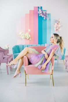 Gallery - If Lisa Frank Had a Pastel Rainbow Wedding This Would Be It Creative Photography, Girl Photography, Tableaux D'inspiration, Rainbow Wedding, Party Decoration, Whimsical Wedding, Colorful Party, Over The Rainbow, Pastel Colors