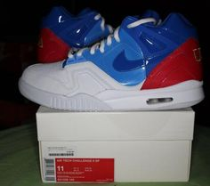 GTA   Nike Air Tech Challenge II 2 SP USA US OPEN size 11 $205   Listed Items Free Local Classifieds Ads Sell Items, Gta, Toronto, Air Jordans, Nike Air, Challenges, Buy And Sell, Sneakers Nike, Tech