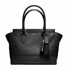 A nice  simple Structured handbag in a neutral color. Worth the $!