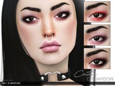 Caitlin Eyeshadow N65 by Praline Sims for The Sims 4