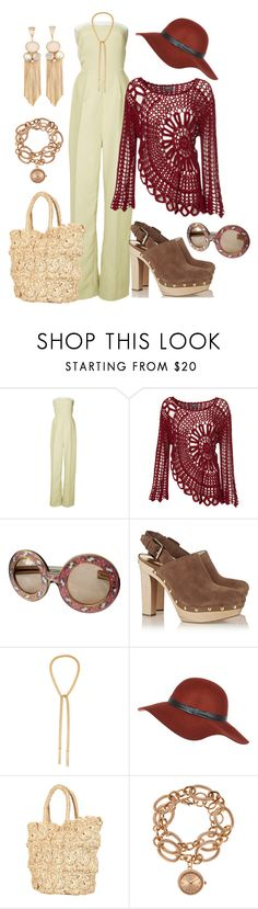 """70s"" by fatange ❤ liked on Polyvore featuring Ioana Ciolacu, Christian Dior, MICHAEL Michael Kors, Carolina Bucci, River Island, Topshop and Louis Arden"